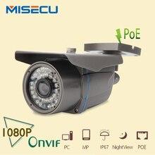 MISECU POE Камеры 1920*1080 P 2.0MP Камера ИК 36 шт. 48 В POE ONVIF Водонепроницаемый 36 шт. ИК Ночного Видения P2P безопасности ip-камеры XMEye