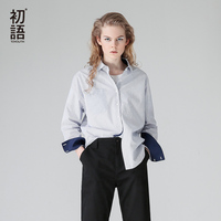 Toyouth Summer Women Cotton Blouse Autumn Floral Long Sleeve Fashion Casual Blouse Office Work Wear Woman