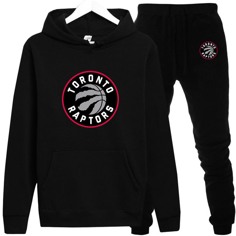 Toronto Leonard Raptors Hoodie Sweatshirt Men/Women New Fashion Hoodies Sweatshirts+Sweatpants Suit 2019 Fleece Hooded Pullover