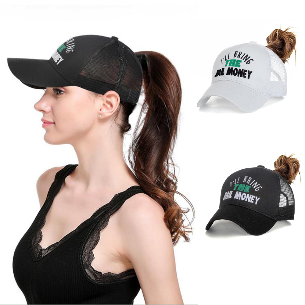 Baseball-Cap Caps Visor-Hat Sports-Cap Embroidery Adjustable Women with Words Modis New