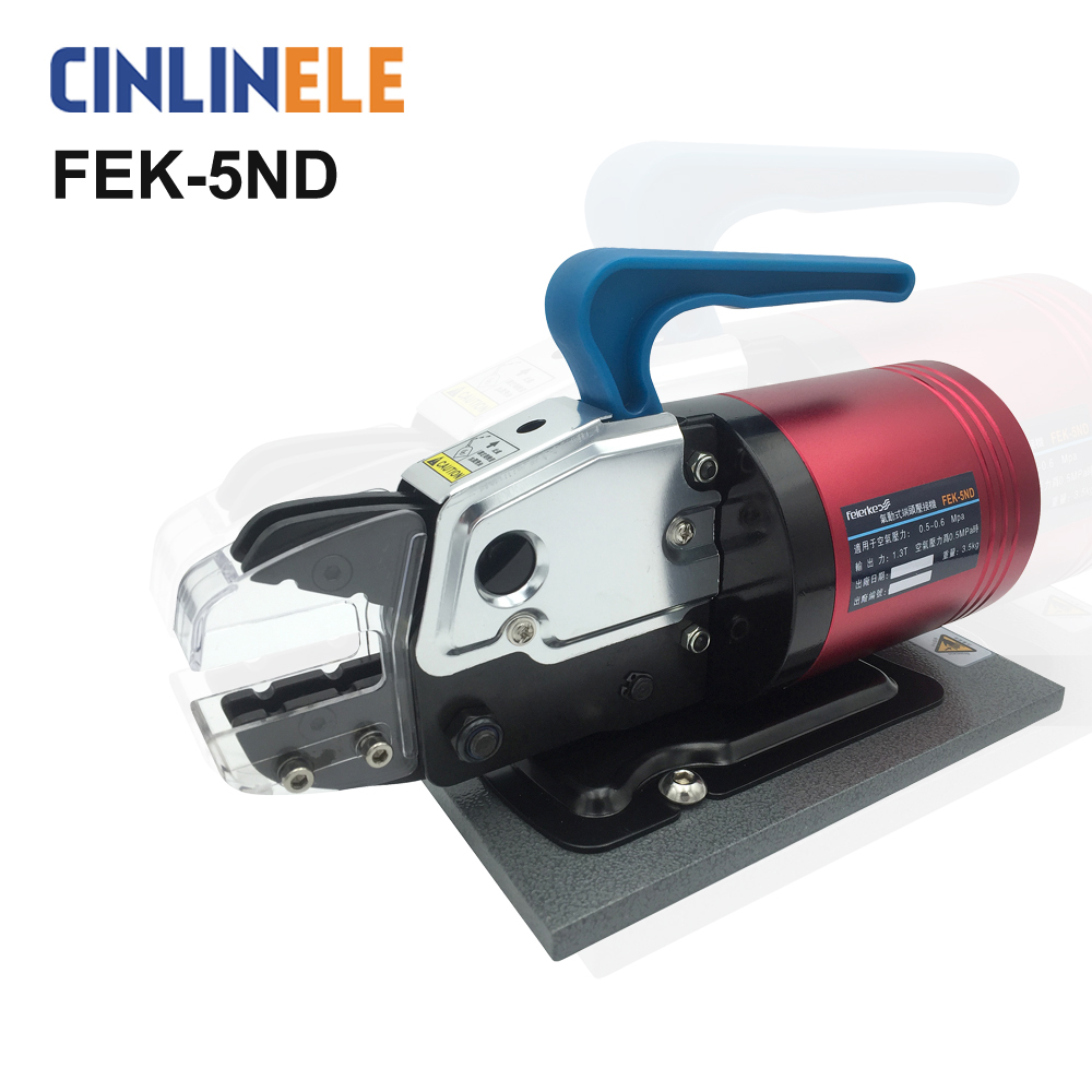 FEK-5ND Pneumatic Type Terminal Crimping Machine Pneumatics Air Tools Crimp Variety Of Terminals ferramentas