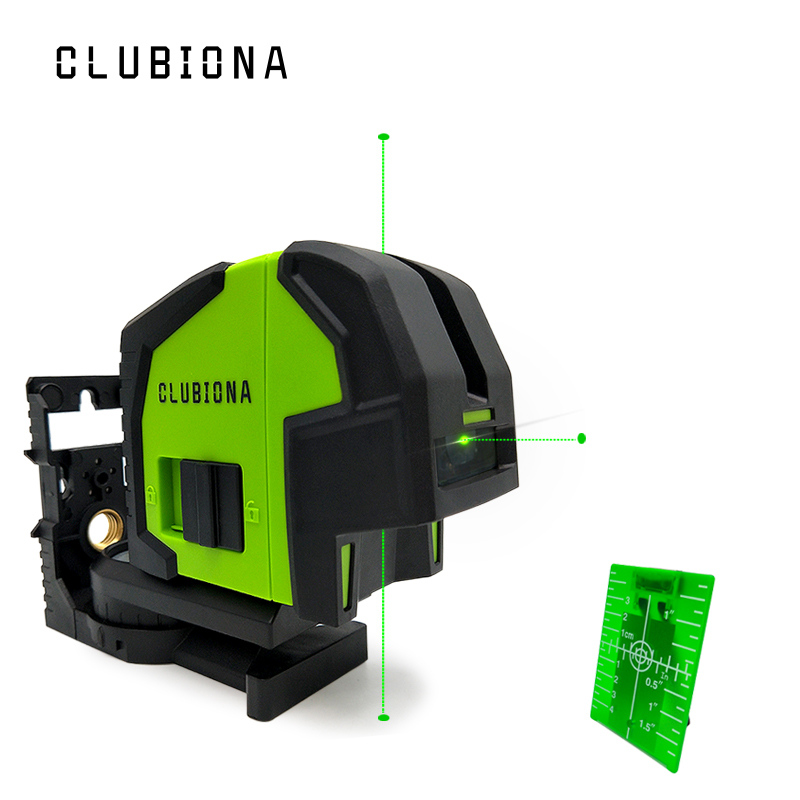 Clubiona 3 green dots laser 360 Degree Self-Leveling Portable dots laser level instrument tools and laser targetClubiona 3 green dots laser 360 Degree Self-Leveling Portable dots laser level instrument tools and laser target