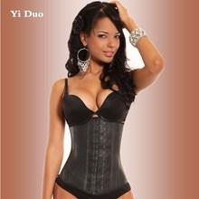 2015 Newest waist shaper corsets latex waist cincher, steampunk corset steel bone corsets and bustiers latex waist trainer