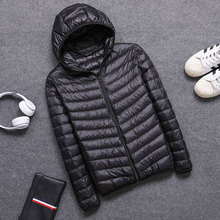 2019 Spring Autumn Mens Hooded Jacket Overcoat Fashion Lightweight Portable with Hat Plus Size 4XL 5XL