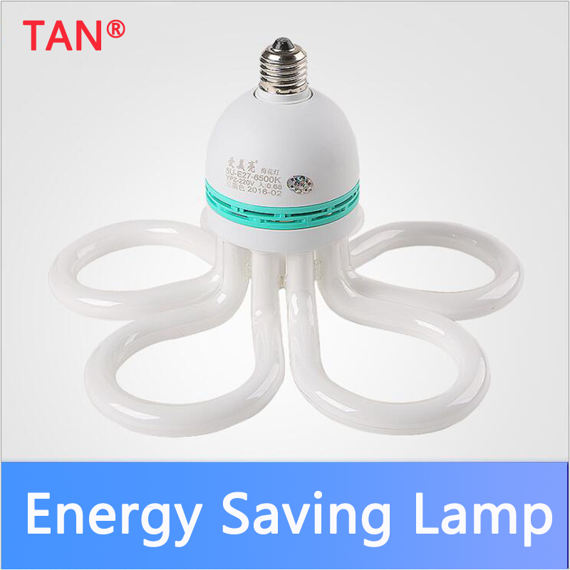 High-power Energy-saving Lamp E27 BULB 85W 105W Ac 220v Plum-shaped Living Room Corridor Corridor Lamp
