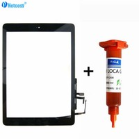 Netcosy For Ipad 5 Air Touch Screen Digitizer Panel Assembly Home Button For Ipad 5 A1474