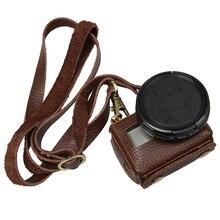 Ir Pro Clip-On Capa De Couro Protetora para GoPro Hero 6/5 Ação Tampa Da Lente da câmera Com 52mm Filtro UV Kits GoPro 6/5 Acessório