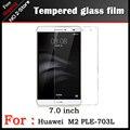 ТОП Премиум Закаленное Стекло Пленка Для Huawei M2 PLE-703L 7 дюймов планшетных пк, Анти-поколебать Протектор Экрана HD Фильмов Для PLE-703L