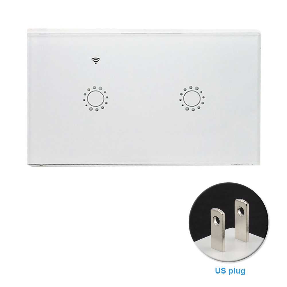 Bedroom Replacement WIFI Smart Wireless Wall Light Accessories Universal APP Remote Timing Switch Panel Voice Control Home ABS Lahore
