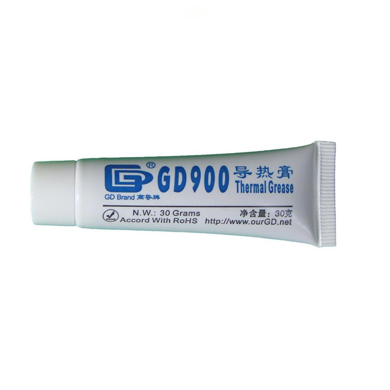 GD900 Gray Net Weight 30 Gram Thermal Grease Silicone High Performance Heat Sink For CPU GPU Cooler ST30 Thermal Compound