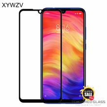 2PCS Full Glue Cover Glass Xiaomi Redmi Note 7 Tempered Screen Protector Phone Film