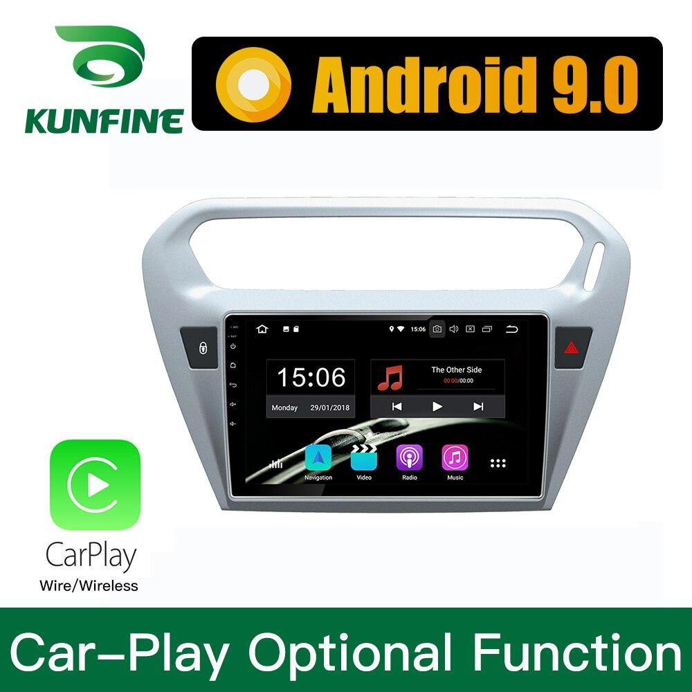 Android 9,0 Ram 4G Rom 64G PX6 Cortex A72 автомобильный DVD GPS; Мультимедийный проигрыватель автомобильный стерео для Citroen Elysee 2014 радио головное устройство