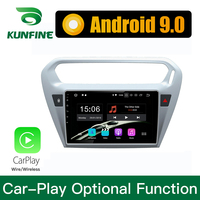 Android 9.0 Ram 4G Rom 64G PX6 Cortex A72 Car DVD GPS Multimedia Player Car Stereo For CITROEN Elysee 2014 Radio Headunit