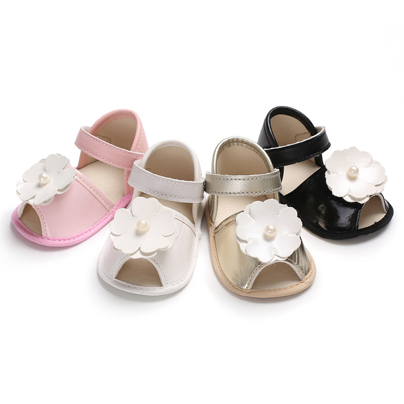 Practical Baby Girl Shoes Lovely Bowknot Leather 4 Color Shoes Anti-slip Sneakers Soft Sole Toddler Shoes 0-12 Month Drop Ship Baby Shoes