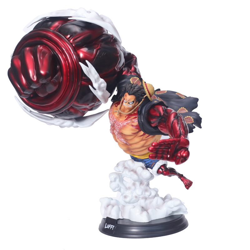 Us 37 99 Anime One Piece Snake Man Gear Fourth P O P Xxl Monkey D Luffy Pvc Action Figure Collection Models Toys In Action Toy Figures From Toys