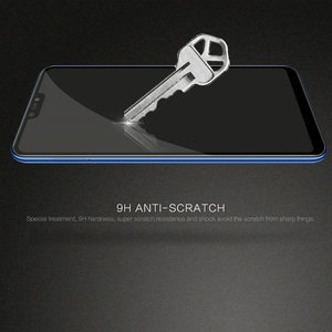 Image 5 - For xiaomi mi 8 lite glass screen protector full covered Nillkin 9H 0.33mm thin For xiaomi mi8 lite tempered glass curved 6.26