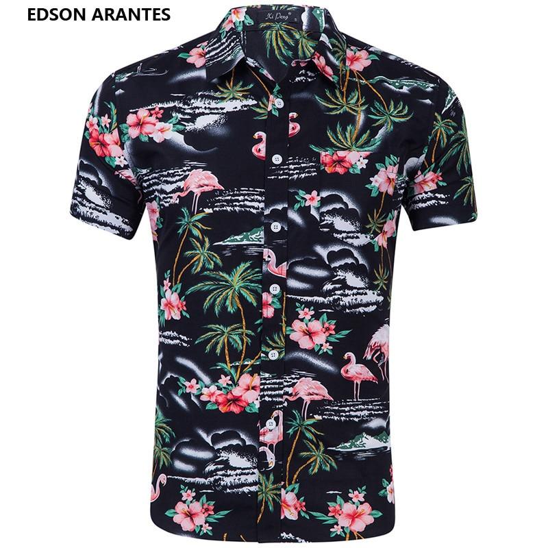 079007419944 Detail Feedback Questions about EDSON ARANTES new Summer Shirt Men Short  Sleeve Hawaii Shirt Male Holiday Casual Wear Button Down 3D Print Beach  Hawaiian ...