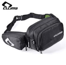 CUCYMA Motorcycle Bag Motorcycles Bicycle Waist Pack Multifunctional Moto Motorbike Saddle Single Shoulder Black
