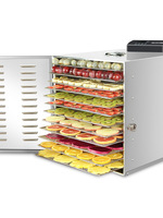 110/220V Large Household Food Fruit Dehydrator Machine Dryer High Capacity 12 Layers Dried Frame Low Noise Food Drying Machine