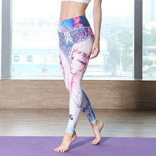 Yoga Pants Women Sports Tights Leggings Fitness Running Tights Colorful Butterflies Sport Trousers women fitness Workout Pant