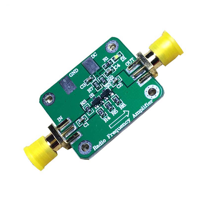 10KHz to 1GHz 10dBm RF Broadband Amplifier Low Noise Amplifier LNA Module HF VHF UHF fm Ham Radio-in Amplifier from Consumer Electronics
