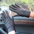 Ultra mujeres de spandex elástico guantes de danza del diseño corto bordado protector solar cuidado de la piel la primavera y el otoño guantes delgados femeninos