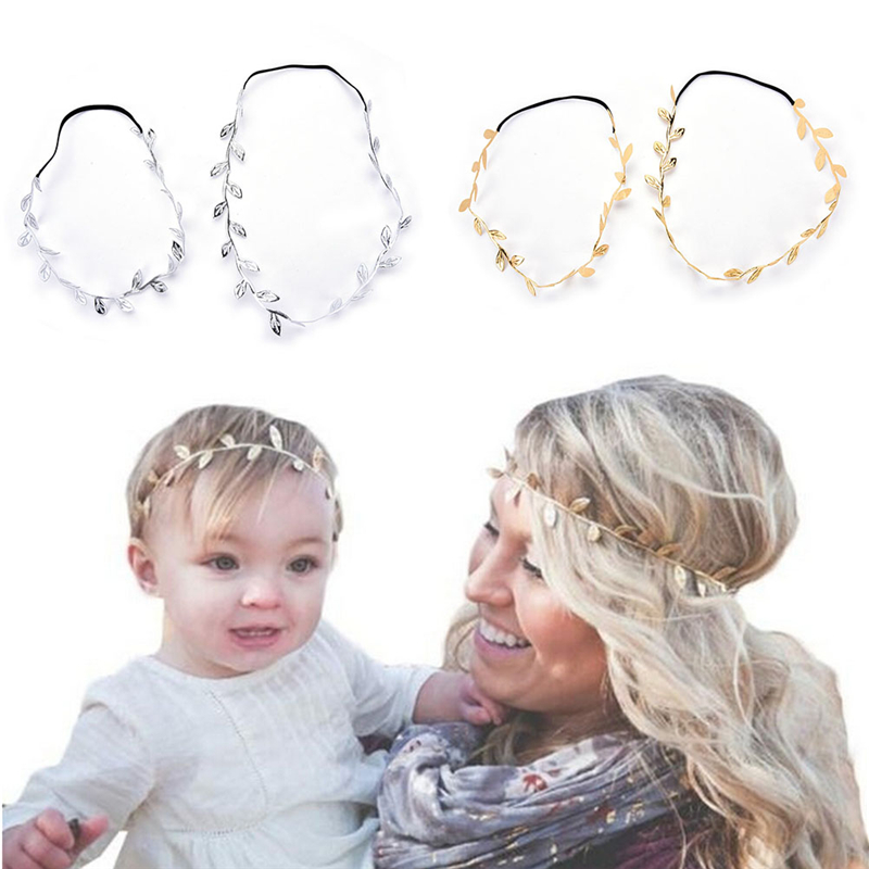 de9655c5a03 Pcs Set Mother Daughter Elastic Ptography Props Headband Costume For Women  Headwear newborn fotografia Clothing for