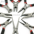 Jewelry Pliers Sets, Polishing, Carbon-Hardened Steel, Black, 10.5~15cm