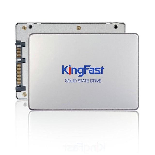 """F6 Kingfast 7 мм ультра-тонкий металлический 2.5 """"internal128GB SSD/HDD SATA3 6 Гбит/С Твердотельный Жесткий диск для ноутбуков и настольных Бесплатная доставка"""