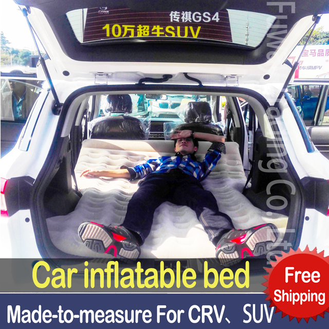 Dhl Free Shipping Suv Car Travel Inflatable Mattress Waterbed