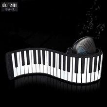 DoReMi 88 Keys Professional Roll Up USB MIDI Electronic Organ Piano Flexible Musical Keyboard Multi functional