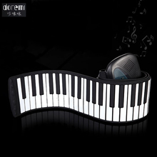DoReMi 88 Keys Professional Roll Up USB MIDI Electronic Organ Piano Flexible Musical Keyboard Multi-functional Pianos S-288