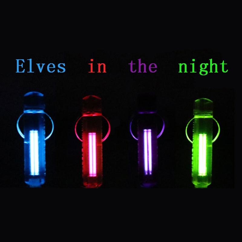 Tritium gas fluorescent key NITE GlowRing large color shell tube length 23mm, product length 48mm high tech and fashion electric product shell plastic mold