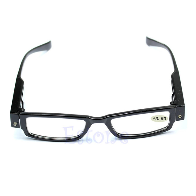 Light UP LED Reading Glasses For Reading In The Dark