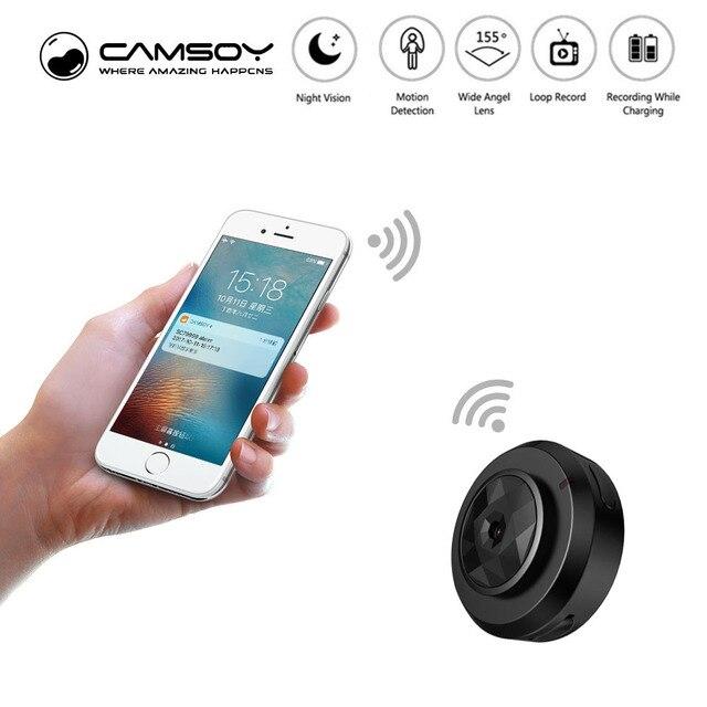 Micro WIFI Mini Terkecil Kamera HD 720 P dengan Malam Visi Ip Wifi Cam Home Security camcorder