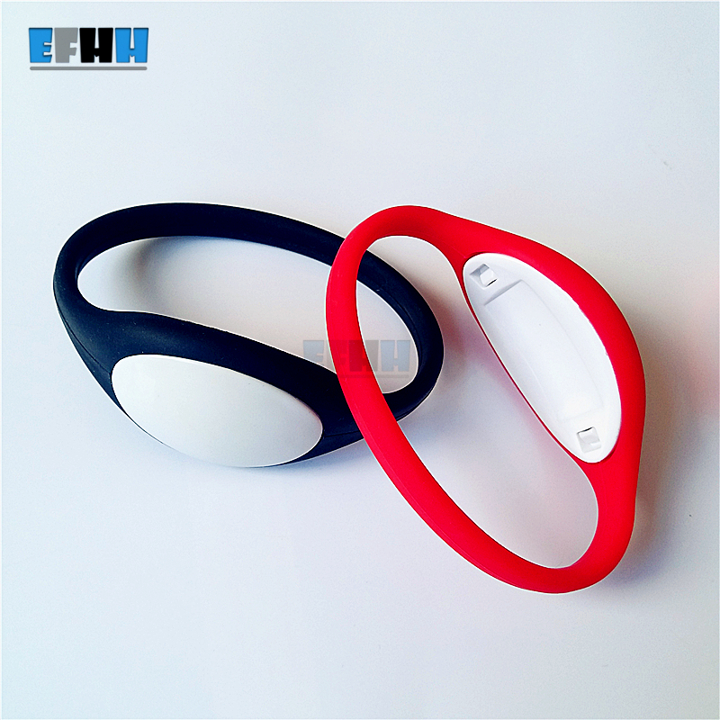 125Khz EM4305/EM4205 Rewritable RFID Bracelet Silicone Wristband Watch Copy Clone Blank Card In Access Control Card