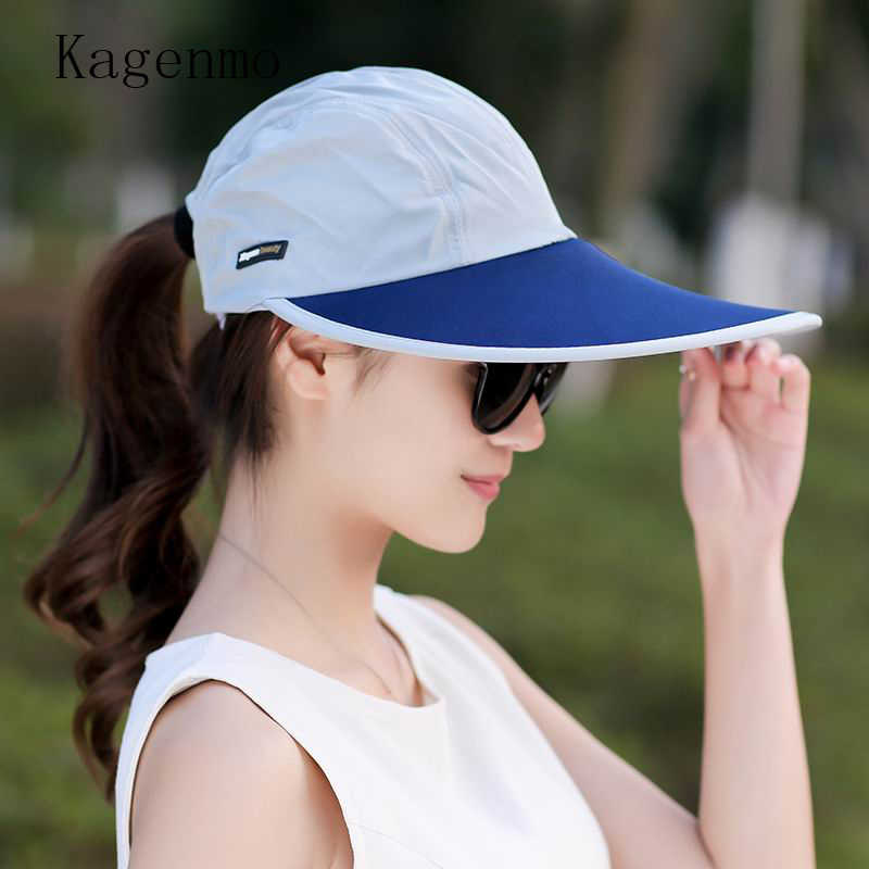 Kagenmo Summer Cool women sun hat Big Long brim Beach hats His and Hers sunhat  Outdoor 8156c70af75f