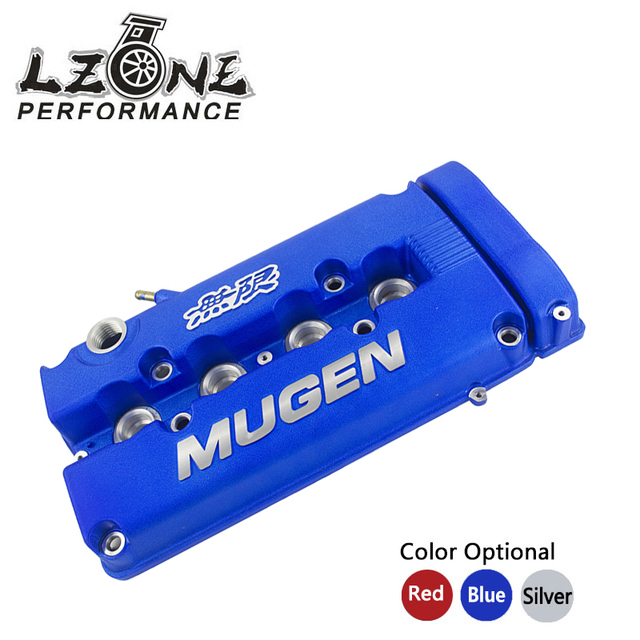 LZONE RACING - MUGEN Style Rocker Valve chamber cover For Honda Civic B16 B17 B18 VTEC B18C GSR JR-VCC01