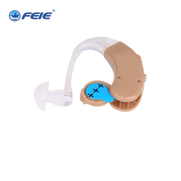 FEIE USA knowles earphones speaker inside ampliifer deaf devices S-998 mini hearing aid behind Drop shipping elephant faux gem beaded ring