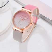 Multicolor Scrub Quartz Geneva Unisex Fashion Watch Clocks Rose Gold Silica Gel Strap Party Decoration WristWatch zegarek damski