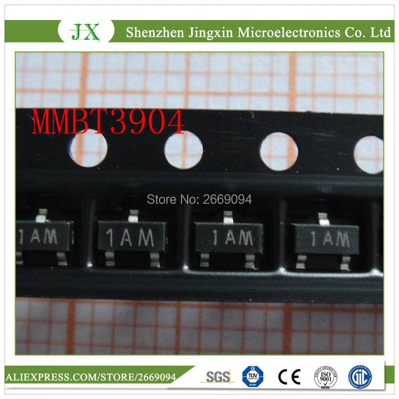 100PCS MMBT3904LT1G General Purpose Transistor SOT23
