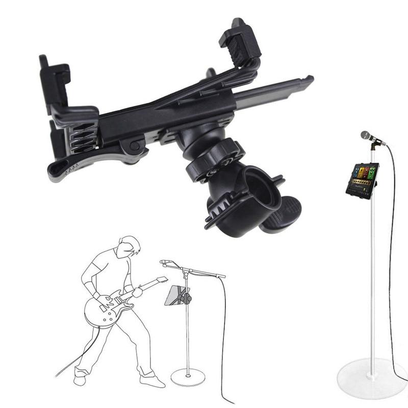 Nouveau Microphone de Musique Support de monture pour support Pour 7 à 11 pouces Tablette iPad Air 5 4 3 2 Samsung Tab QJY99