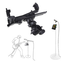 New Music Microphone Stand Holder Mount For 7 To 11inch Tablet IPad Air 5 4 3