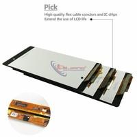 LCD מסך מקורי עבור חלקי חילוף עצרת דיגיטלית מסך מגע תצוגת LCD D6503 D6502 סוני Z2 L50W עבור LCD Xperia Z2 (5)