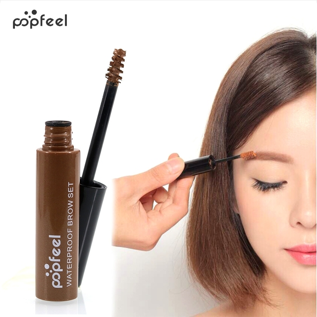 Popfeel Professional Eye Makeup Colored Pencils Eyebrow Enhancer Gel