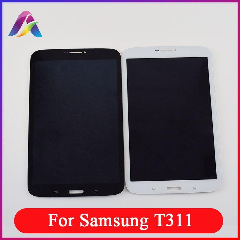 Для samsung Galaxy Tab3 8,0 SM-T311 T311 ЖК-дисплей Touch SM-T310 ЖК-дисплей Экран T310 ЖК-дисплей Дисплей Панель + Сенсорный экран планшета Ассамблеи
