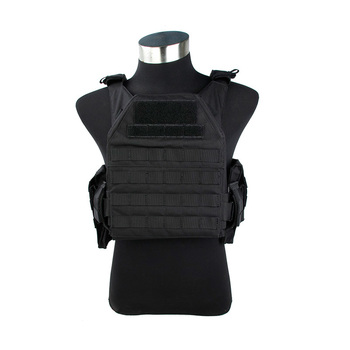 2019 New 3103-BK FLPC Plate Carrier 500D Cordura Tactical Vest with insert Plates Military vest with EVA plates