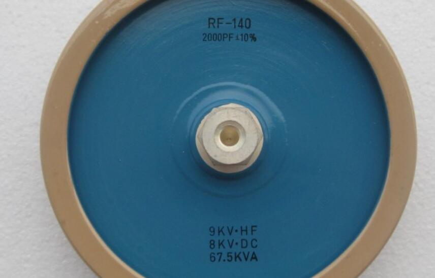 Aletler'ten Elektrikli Alet Aksesuarları'de RF 140 2000PF 9 KVHF 8 KVDC 67.5KVA Yüksek frekanslı makine yüksek gerilim yüksek güçlü seramik seramik kondansatör title=