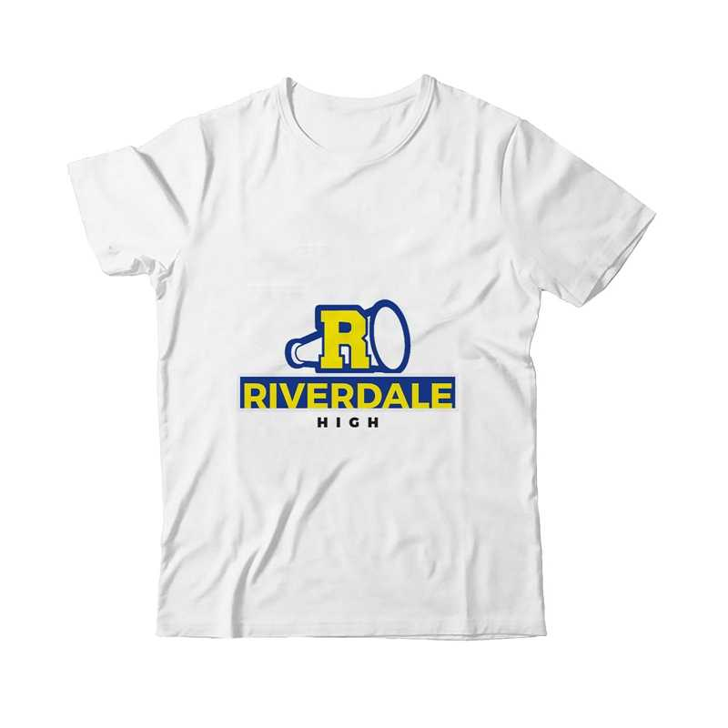 Funny Riverdale Anime Ins Men'S Cool Design Pattern Round Neck Short Sleeve T-Shirt Modal Printed Soft Short Sleeves A19311