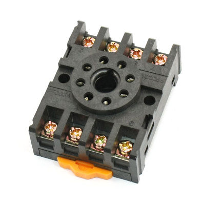 PF083A 12A 300VAC 8Pins PCB Relay Base for HHC70B1 JTX-2C JQX-10F
